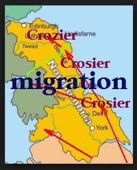 Crozier migration
